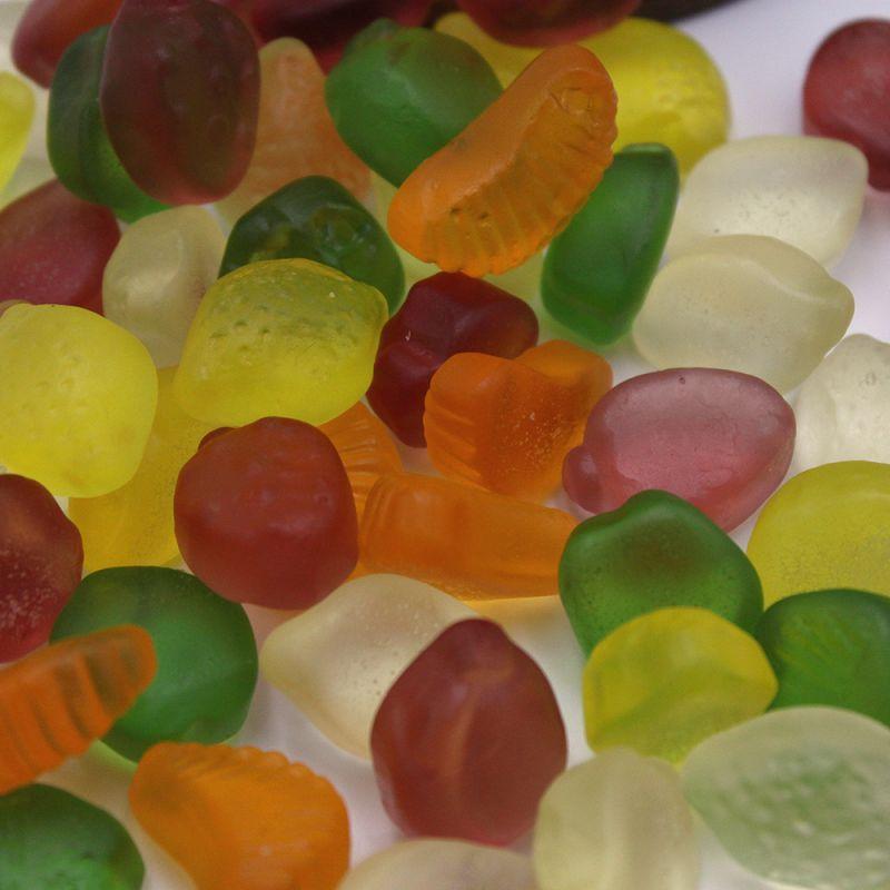 Fruits gélifiés sans sucre