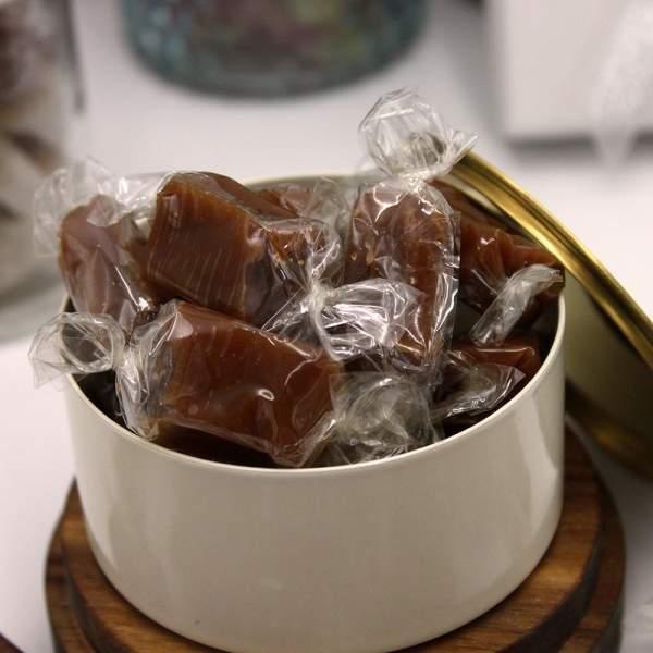 Caramel tendre au beurre salé et à la...