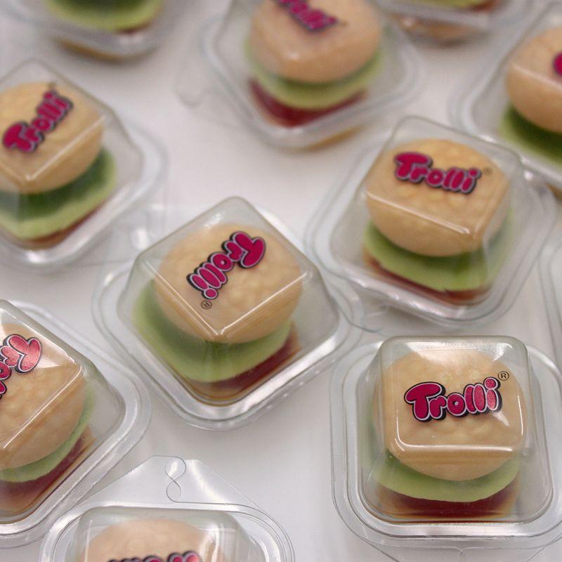 Mini Burger Gum Trolli