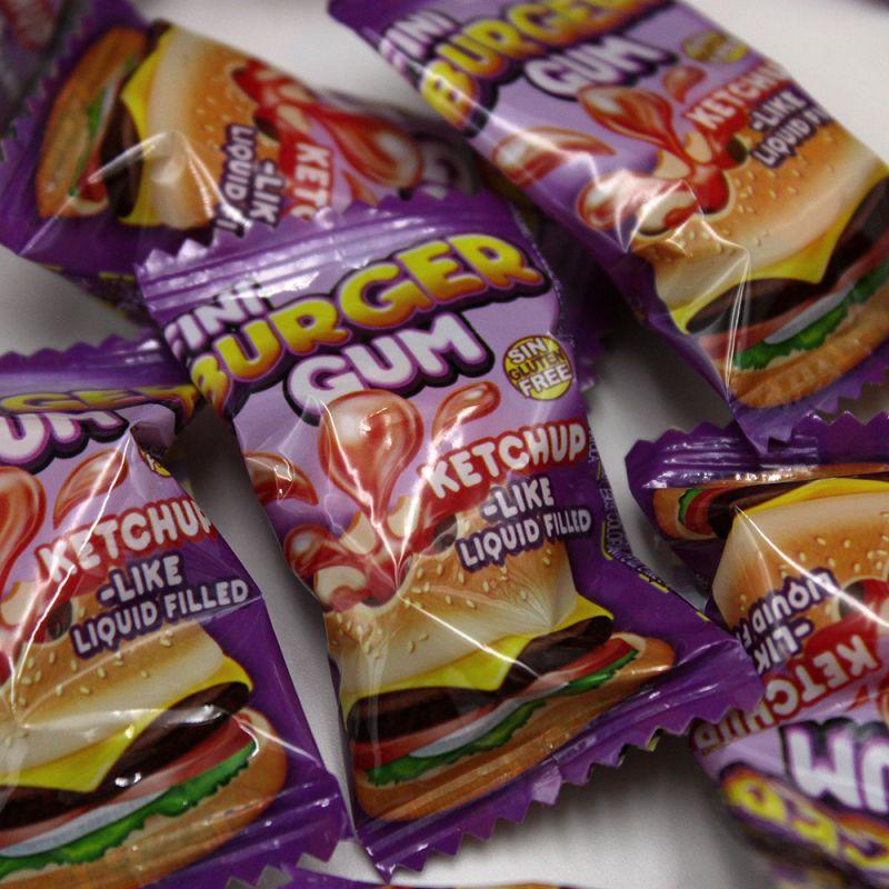 Mini Burger Gum