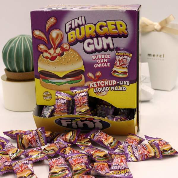 Mini Burger Gum